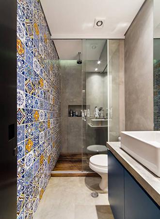 colorful bathroom ideas 2019