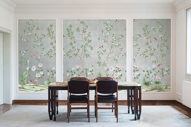 best chinoiserie wallpaper 2019