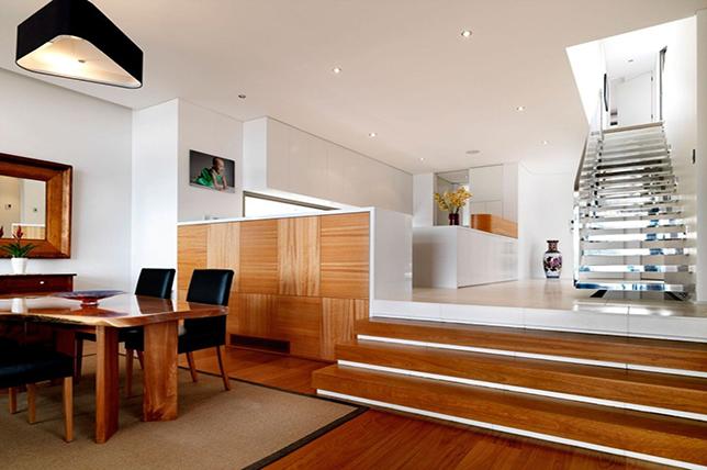 Half-wall room divider