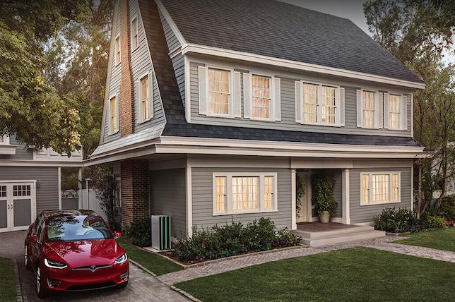 Tesla solar roof tile styles