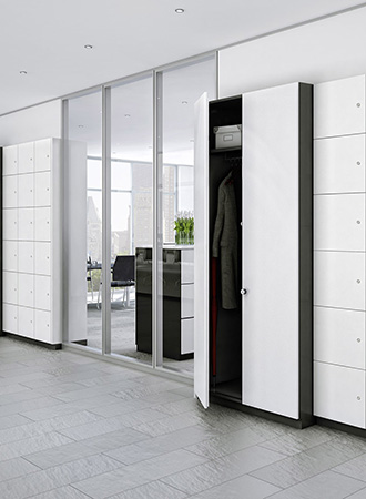 personal storage office furniture ideas