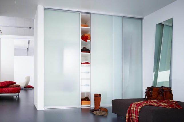 modern glass cabinet doors