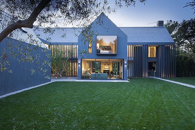 modern transverse roof style