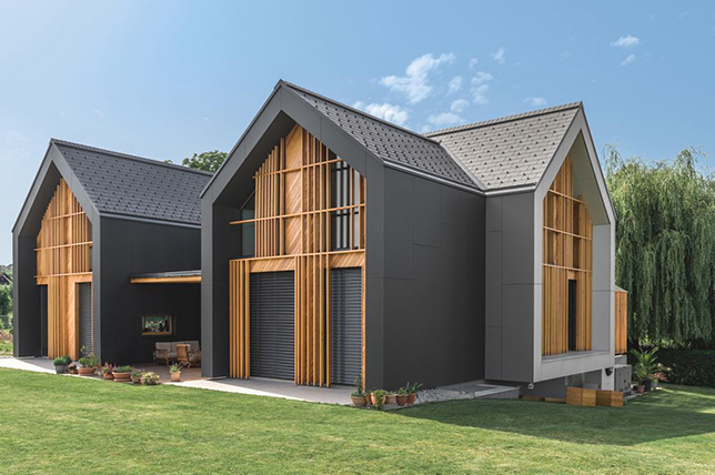 modern cross roof types