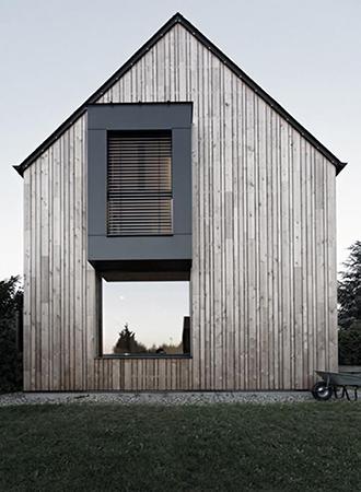 modern a frame roof types