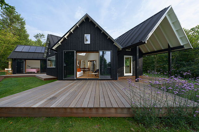 modern pitched roof types