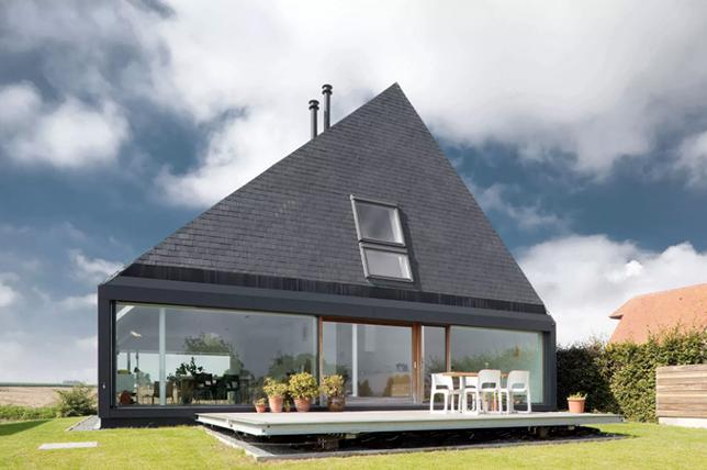 Pyramid roof types