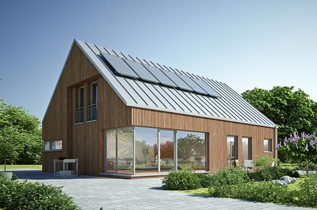modern metal roofing material