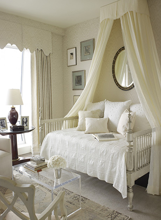 dainty hanging bed