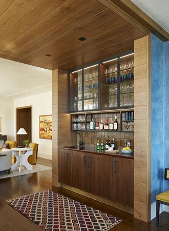 modern house bars