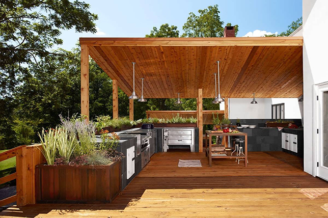 15 ideas for the outdoor kitchen