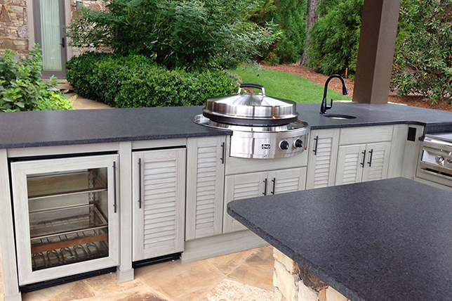 Outdoor kitchen ideas for cooking