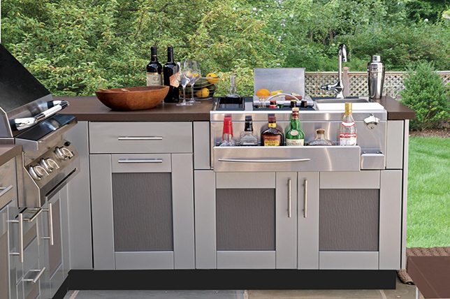 modern ideas for the outdoor kitchen