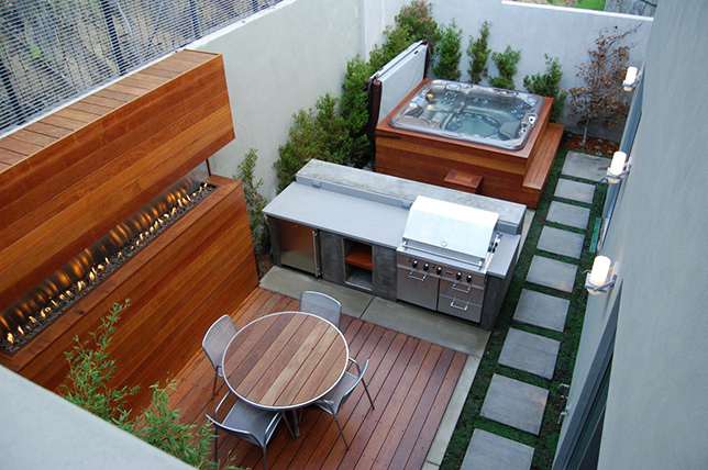 small ideas for the outdoor kitchen