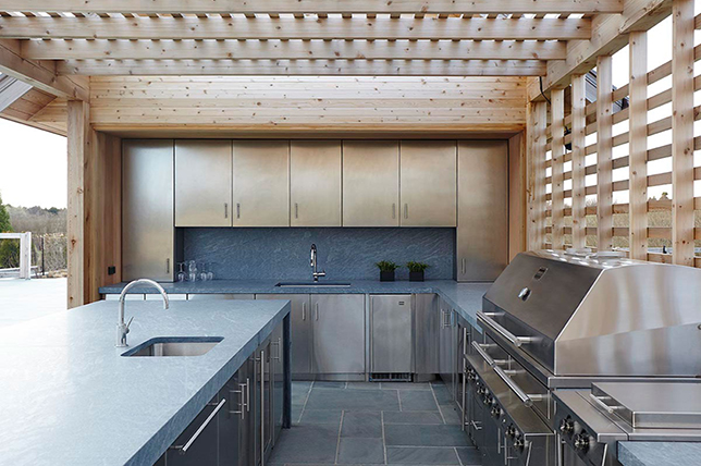 contemporary ideas for the outdoor kitchen