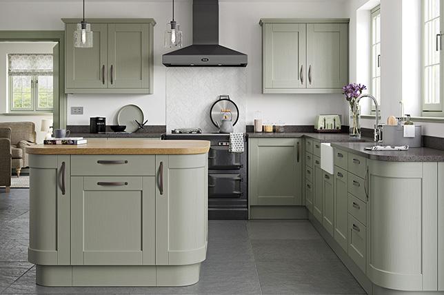 Sage green kitchen color ideas