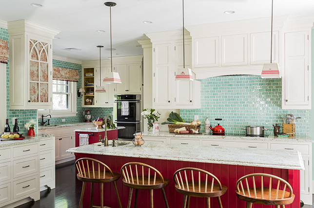 red kitchen color ideas