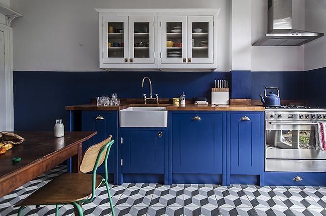 blue kitchen color ideas