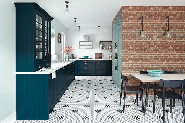 teal blue kitchen color ideas