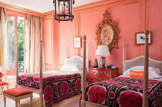 pink bedroom colors