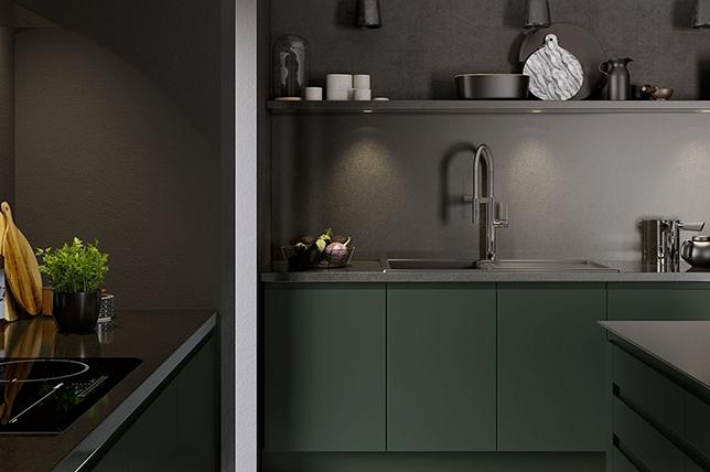 dark kitchen-renovation-trends-2019