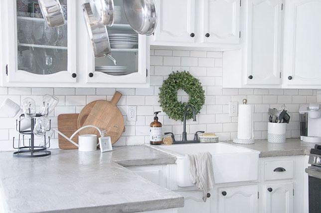 Kitchen renovation trends 2019 concrete