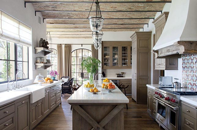 rustic modern kitchen renovation trends 2019