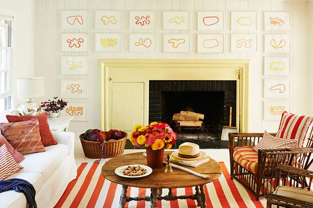 cream living room colors