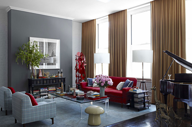 Gray gold living room colors