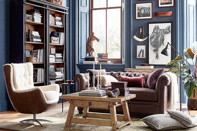 Marine living room paint colors