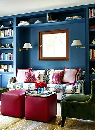 best small living room ideas shelves
