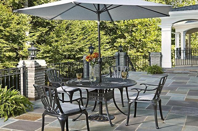Backyard Home Patio Table Ideas
