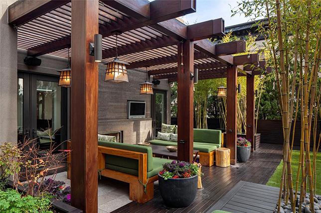 Ideas for wooden garden furniture