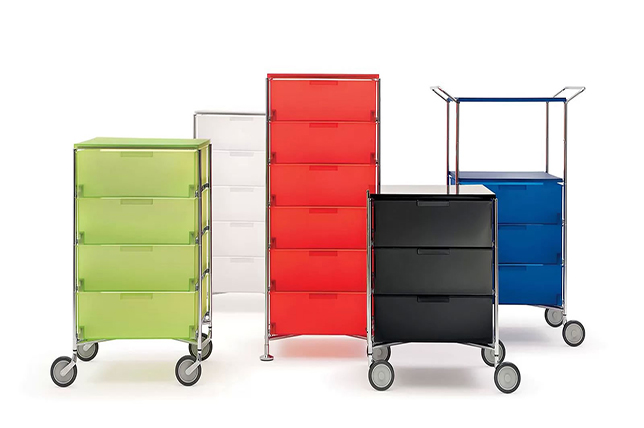 Investment furniture storage chest of drawers