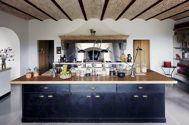 Gourmet kitchen island ideas for two purposes