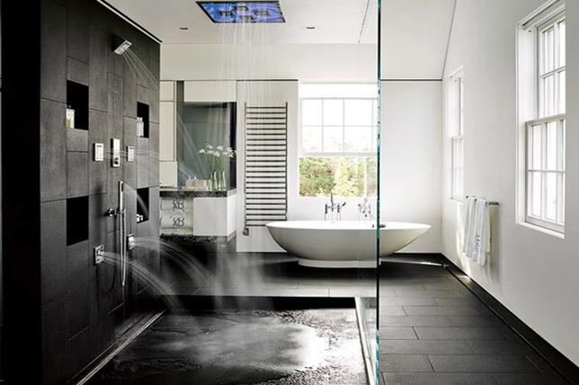 Storage shower ideas