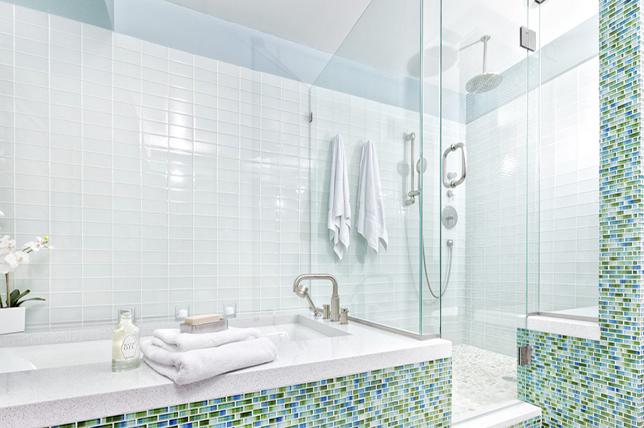 contemporary shower ideas