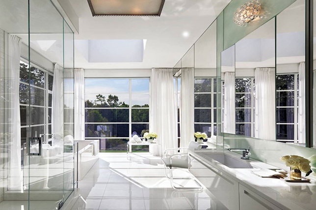 minimal shower ideas