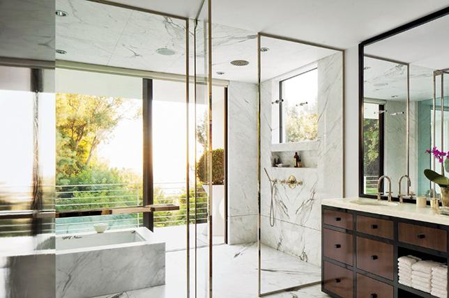 open shower ideas