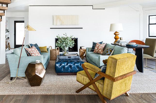 modern boho 2019 interior design trends