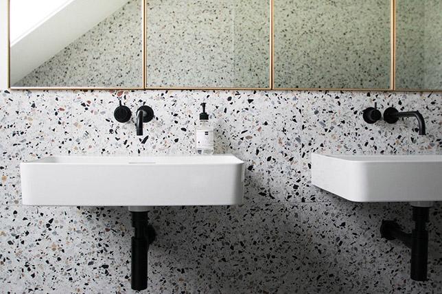 Modern terrazzo bathroom 2018 interior design trends