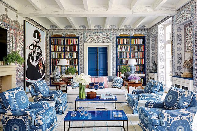 geometric tribal patterns 2019 interior design trends