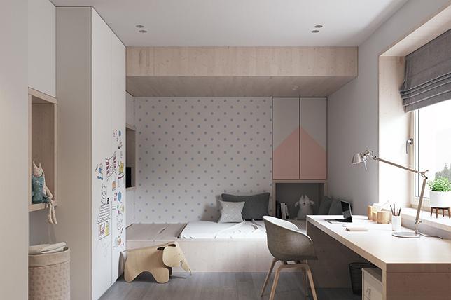 Multipurpose teen bedroom ideas