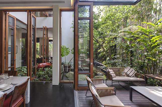 Outdoor summer decor ideas open plan