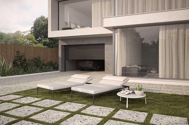 Outdoor summer decor ideas terrazzo