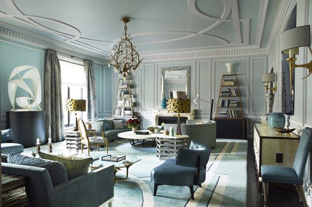 Art deco interior design themes