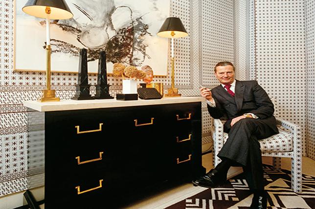 David Hicks interior design story