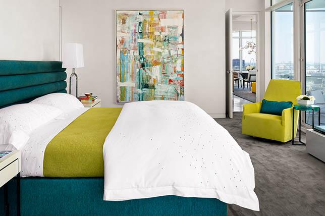 Dallas Art District interior design