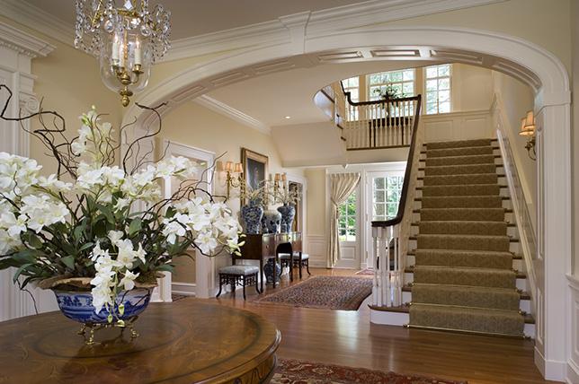 traditional interior design houses