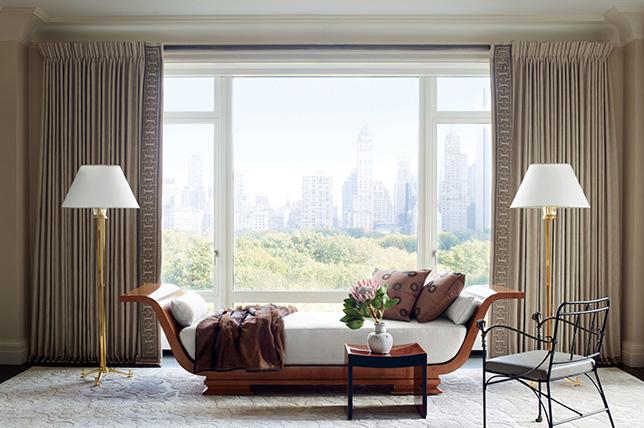 traditional interior design window treatment ideas